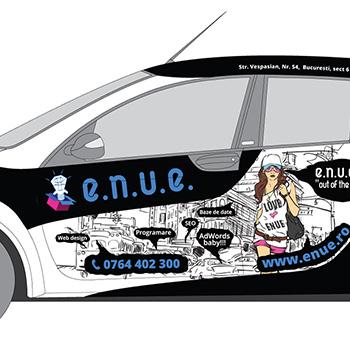 ENUE car design